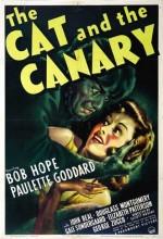 The Cat And The Canary (1939) afişi