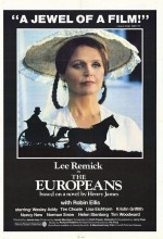 The Europeans (1979) afişi