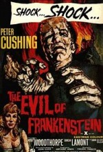 The Evil Of Frankenstein (1964) afişi