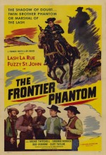 The Frontier Phantom (1952) afişi