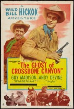 The Ghost Of Crossbones Canyon (1952) afişi