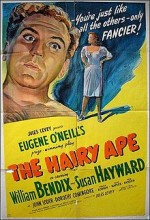 The Hairy Ape (1944) afişi