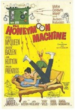 The Honeymoon Machine (1961) afişi