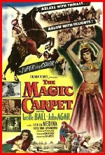 The Magic Carpet (1951) afişi