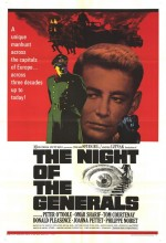 Generallerin Gecesi (1967) afişi