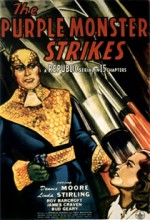 The Purple Monster Strikes (1945) afişi