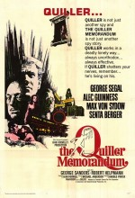 The Quiller Memorandum (1966) afişi