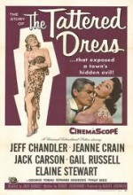 The Tattered Dress (1957) afişi