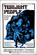 The Twilight People (1973) afişi