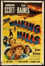 The Walking Hills (1949) afişi