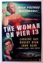 The Woman On Pier 13 (1949) afişi