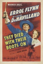They Died With Their Boots On (1941) afişi