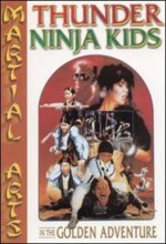 Thunder Ninja Kids In The Golden Adventure (1992) afişi
