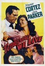 Tomorrow We Live (1942) afişi