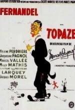 Topaze (1951) afişi
