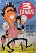 Tre Piger I Paris (1963) afişi