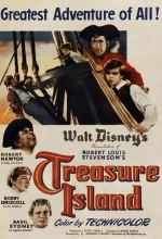 Treasure Island (1950) afişi