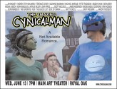 The Amazing Cynicalman (2012) afişi