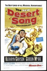 The Desert Song (1953) afişi