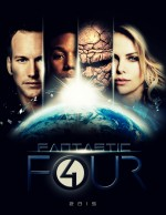 The Fantastic Four (2015) afişi
