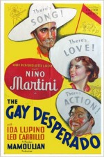 The Gay Desperado (1936) afişi