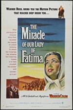 The Miracle of Our Lady of Fatima (1952) afişi