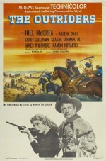 The Outriders (1950) afişi