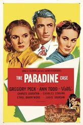 The Paradine Case (1947) afişi