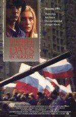 Three Days In August (1992) afişi