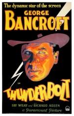 Thunderbolt (1929) afişi