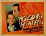 Two Against The World (1936) afişi