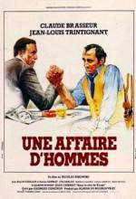 Une Affaire D'hommes (1981) afişi