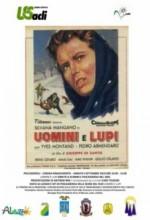 Uomini E Lupi (1956) afişi