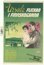 Ursula - Flickan I Finnskogarna (1953) afişi