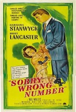 Sorry, Wrong Number (1948) afişi