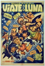 Viaje A La Luna (1958) afişi