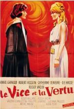 Vice And Virtue (1963) afişi