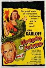 Voodoo ısland (1957) afişi