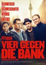 Vier Gegen Die Bank (2016) afişi