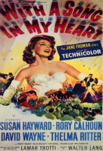 With A Song in My Heart (1952) afişi