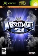Wrestlemania 21 (2005) afişi