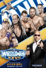 Wrestlemania 27 (2011) afişi