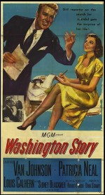 Washington Story (1952) afişi
