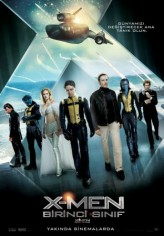X-Men: Birinci Sınıf (2011) afişi