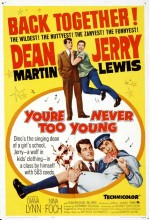 You're Never Too Young (1955) afişi