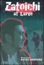 Zatoichi At Large (1972) afişi