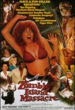 Zombi ısland Massacre (1983) afişi