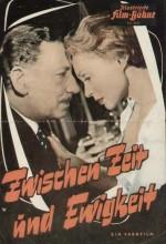 Zwischen Zeit Und Ewigkeit (1956) afişi