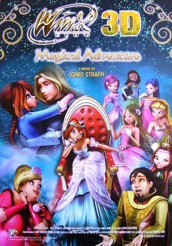 Winx Club 3d Magic Adventure 1283787388 - Winx Club 3D � Sihirli Macera