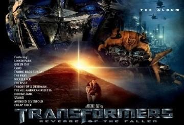 Transformers, Müzik Albümüylede İddialı